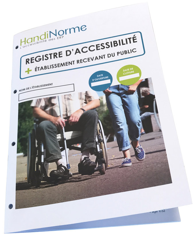 Registre d'accessibilité Handiregistre