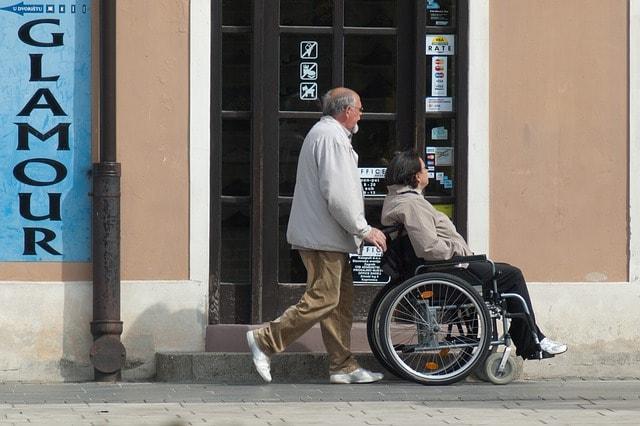 Personne souffrant de handicap moteur