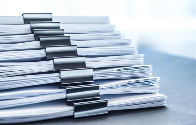 Documents obligatoires dans le registre d'accessibilité